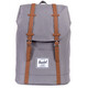 Herschel Retreat Zaino grigio/marrone